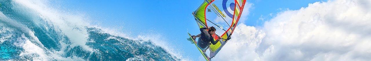 Windsurf zeilen
